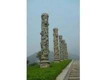 石雕柱子成品(图片)